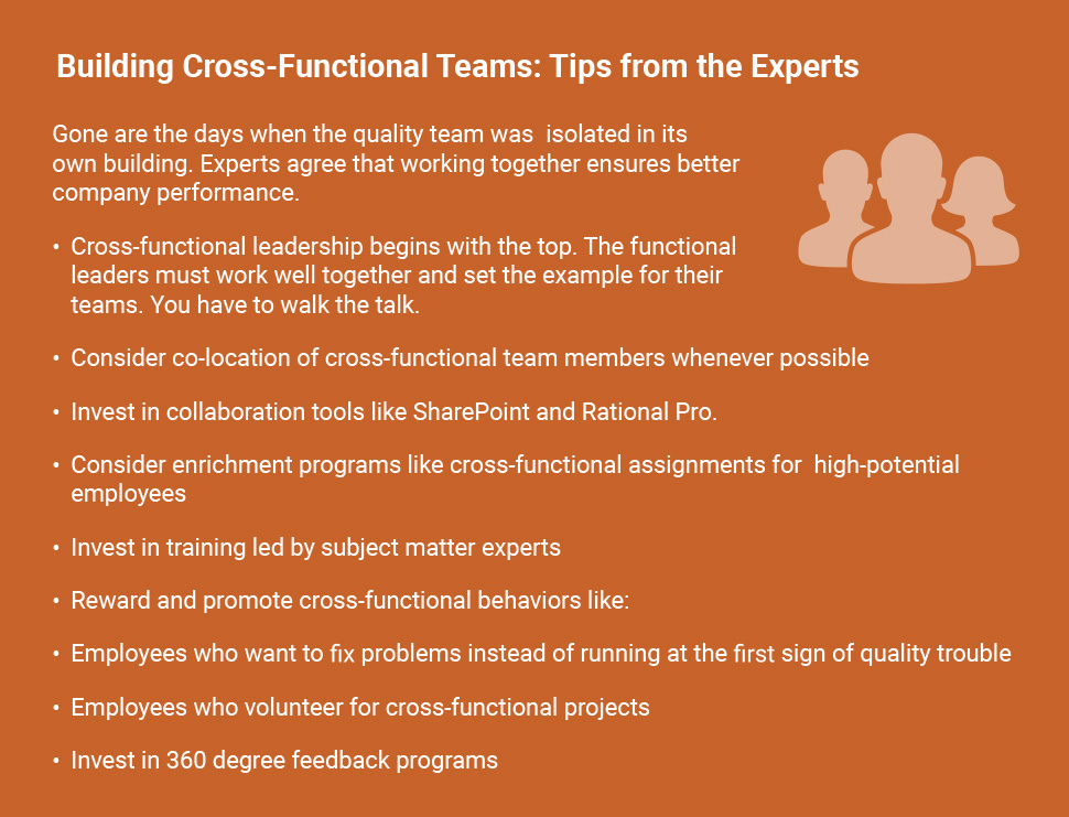 Implementing Risk Managed Supplier Quality - Building Cross-Functional Teams