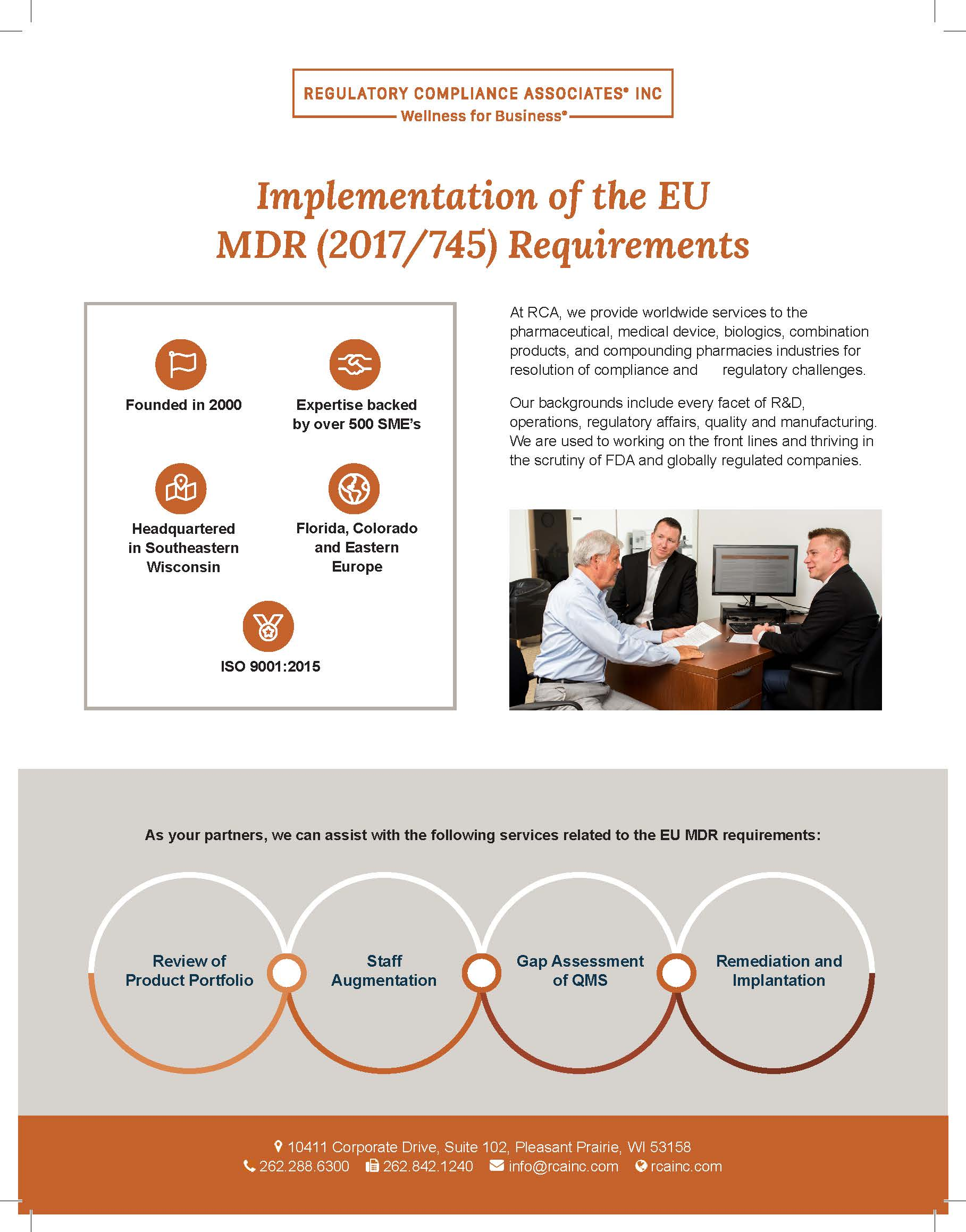 Implementation of the EU MDR (2017/745) Requirements